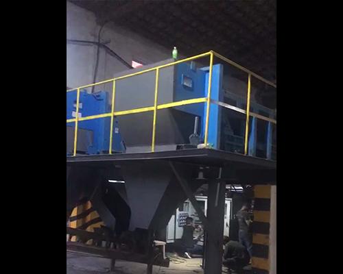 江西万年两台1米跳铝机